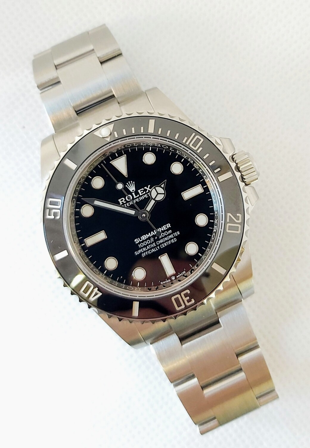 Rolex Submariner 124060 - Unworn 2020 Full Set