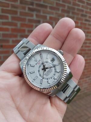 Rolex Sky Dweller 326934 - 2020 - White Dial - Full Set