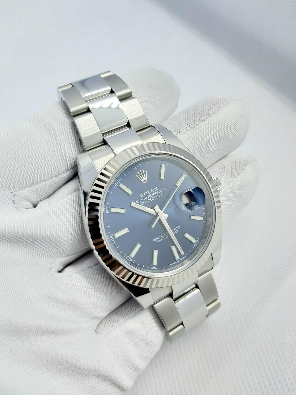 Rolex Datejust 126334 41mm - Blue Dial - Full Set