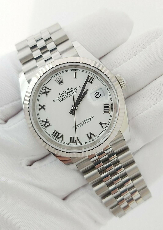 Rolex Datejust 36mm 126234, Full Set, Original receipt