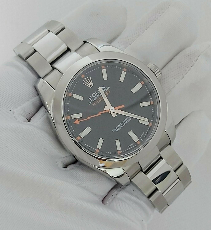 Rolex Milgauss 116400 - 2009 - Black Dial