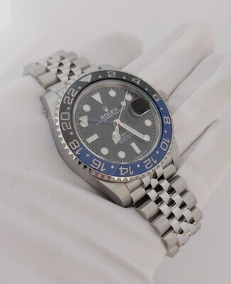 Rolex GMT Master II 126710BLNR (Batgirl), Full Set, Like New