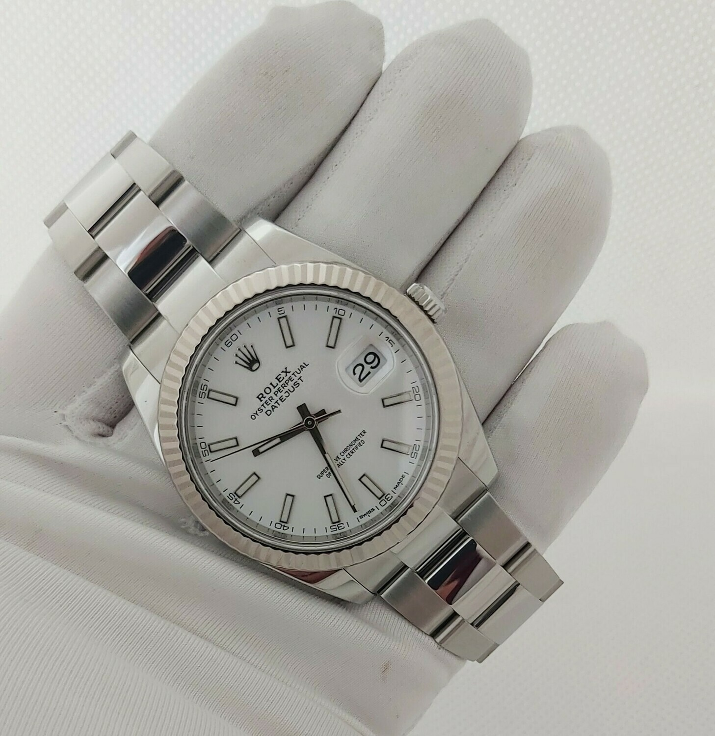Datejust 126334 41mm - White Dial