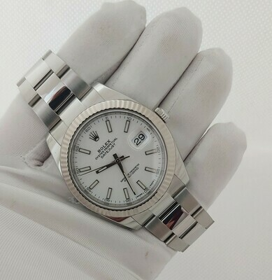 Rolex Datejust 126334 41mm - White Dial