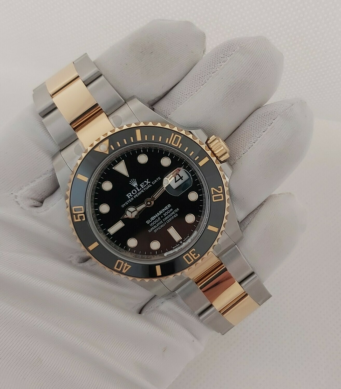 Rolex Submariner 126613LN - Full Set - 2021 - Brand New - Unworn & Partially Stickered