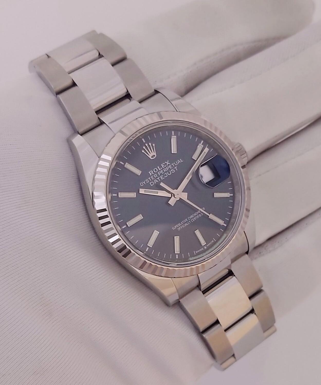 Rolex Datejust 126234 - 36mm Blue Dial - Full 2021 - New & Unworn