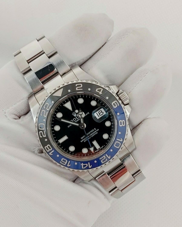 Rolex GMT Master II 116710BLNR 2018 - Full Set Batman