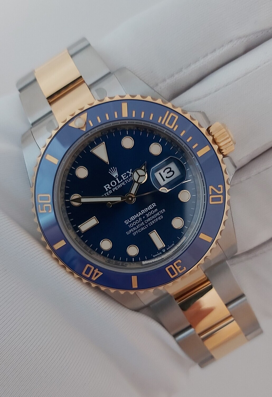 Rolex Submariner 126613LB - May 2021, New - Unworn - Stickered