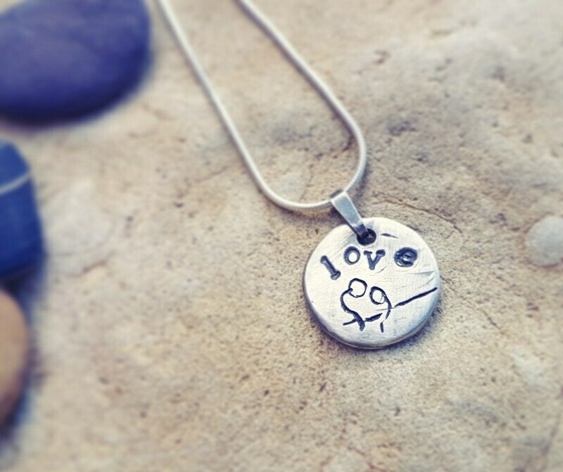 Love Charm Wishes Pendant Necklace