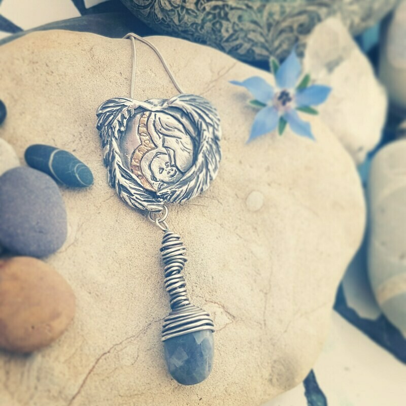 Heal the Wounded Inner Child and Mother Energy Pendant