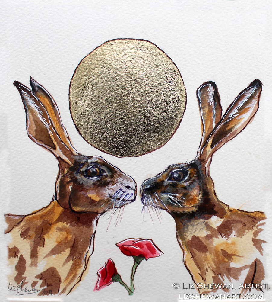 The Kiss with the Roses