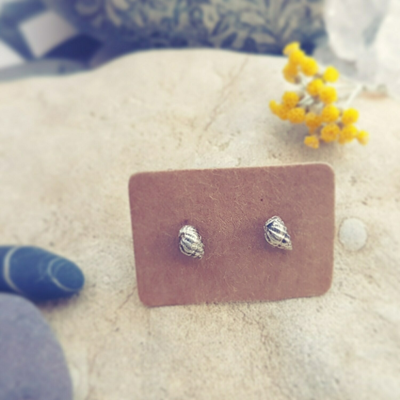 Periwinkle Serenity Stud Earrings