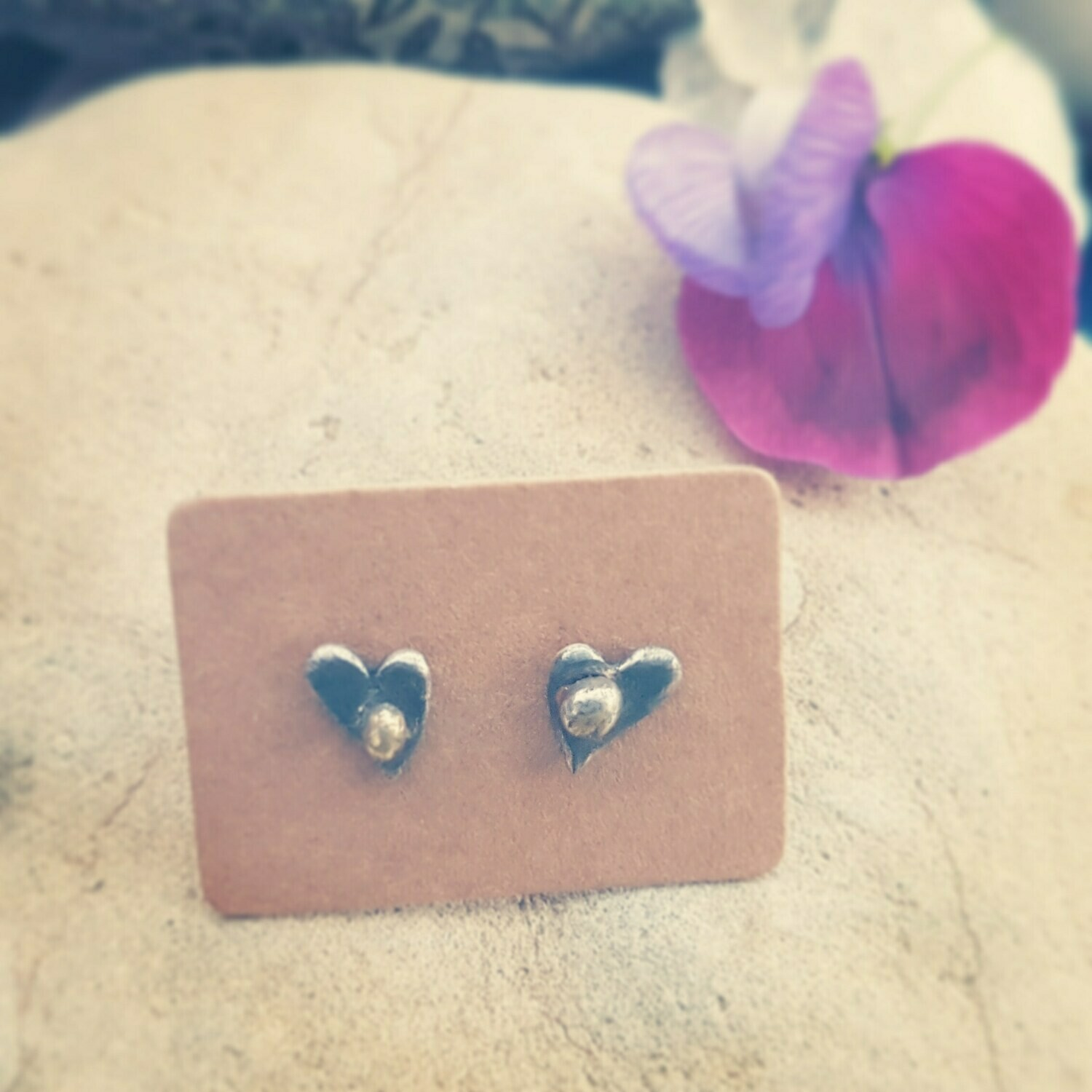 'You are My Sunshine' Love Charm Stud Earrings