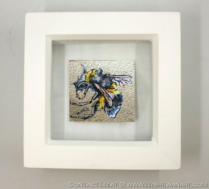 Mini Bee Drawing