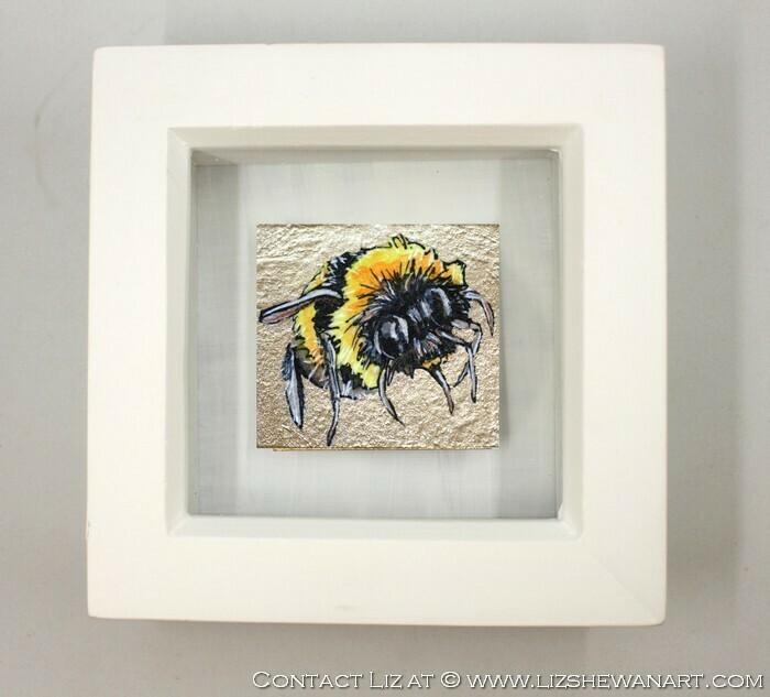 Mini Bee Drawing 2