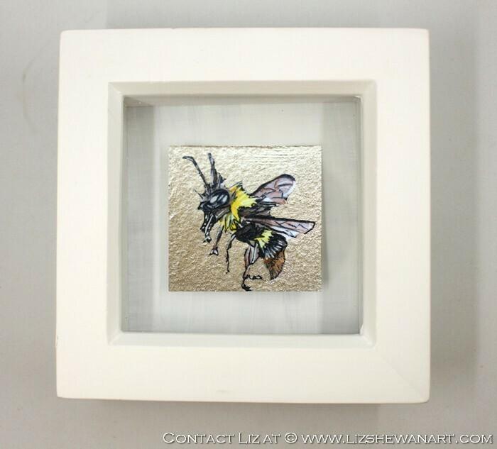 Mini Bee Drawing 5