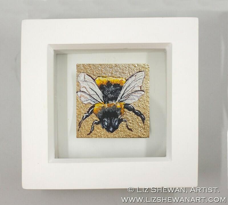 Mini Bumble Bee Drawing 6