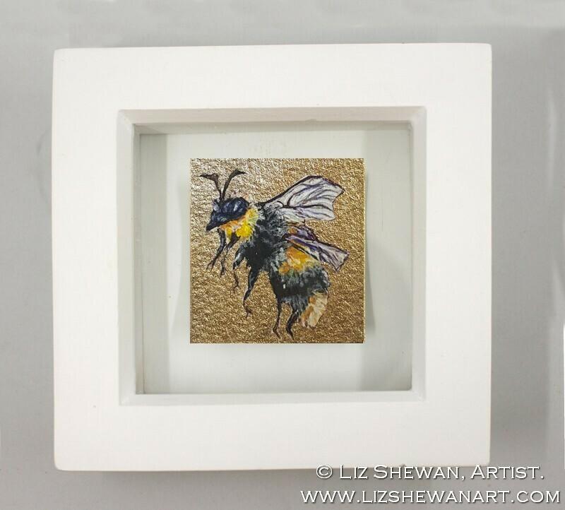 Mini Bumble Bee Drawing 8