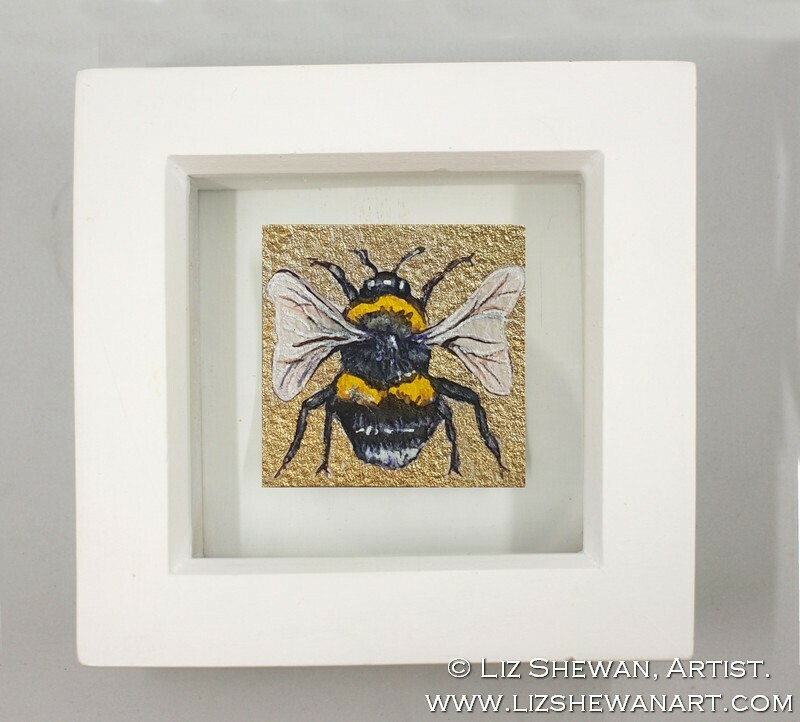 Mini Bumble Bee Drawing 7