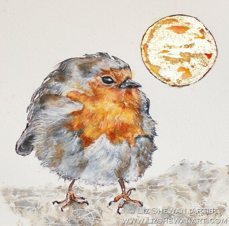 Plump Fluffy Robin | Heaven's Song