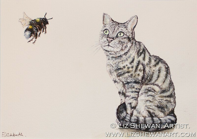 The Cat and the Bee