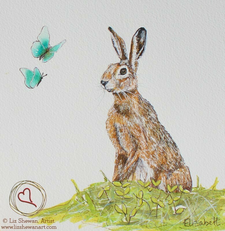 The Hare meeting the Butterflies