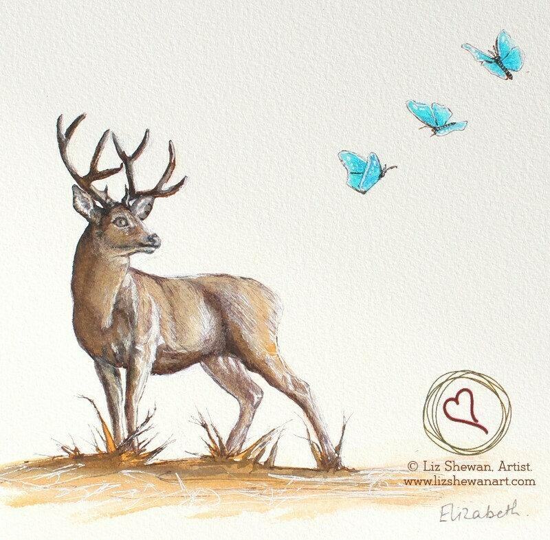 Stag's Bliss | Deer