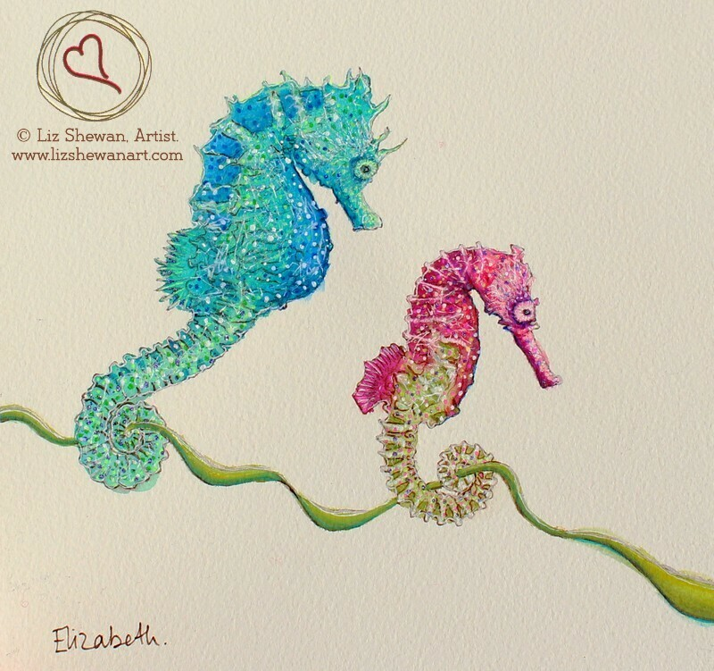 Seahorse Love Walk