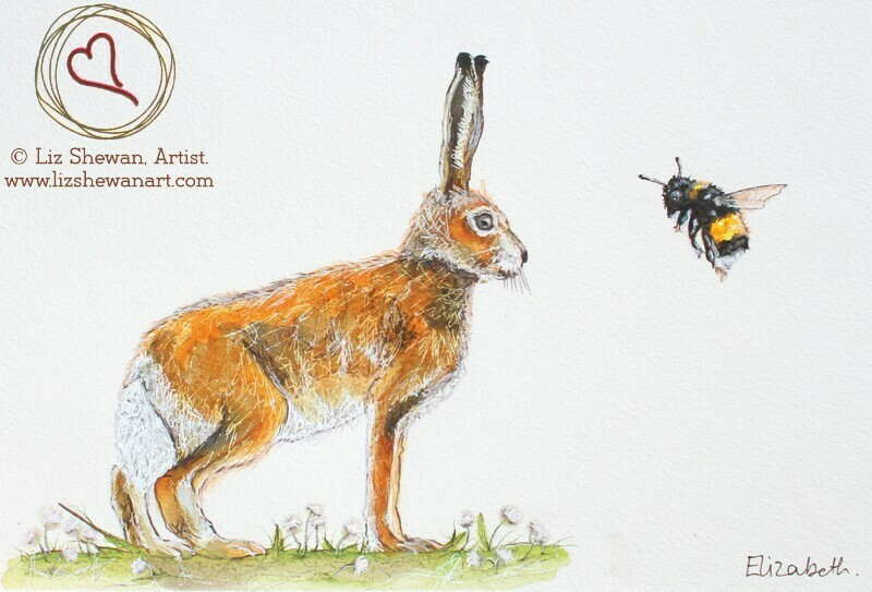Bumble and Hare Meeting