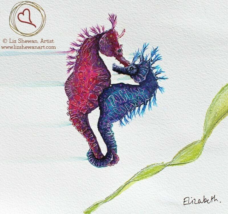 Seahorse Hug