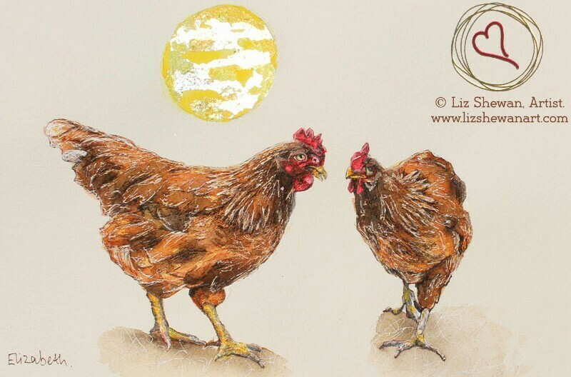 Chatting Hens | Chicken