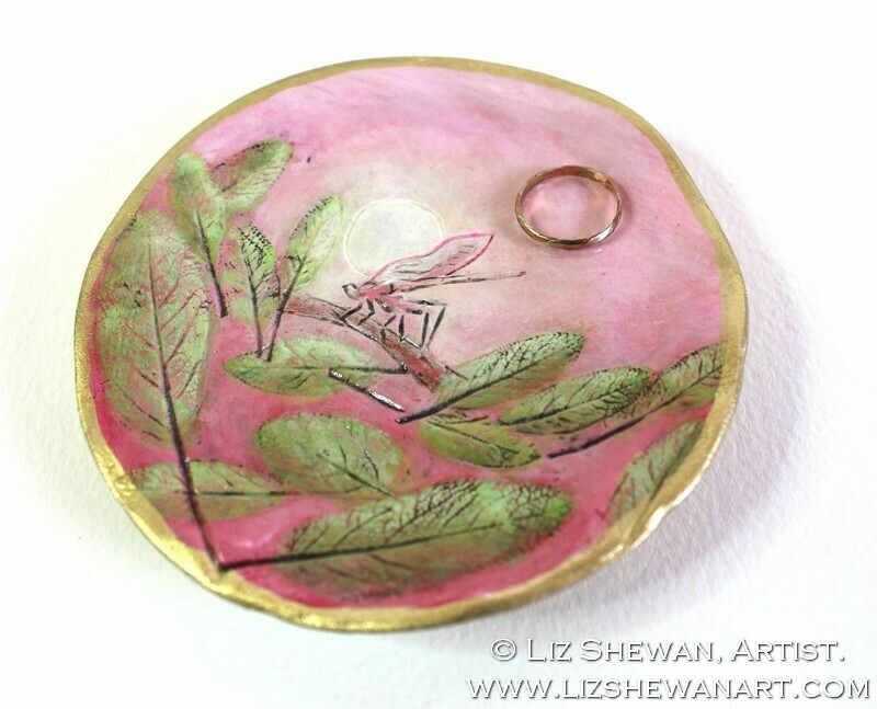 DragonFly Trinket Dish | Miniature Painting