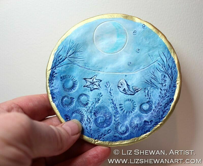 Deep Sea Trinket Dish | Miniature Painting