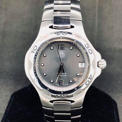 TAG Heuer Kirium 200M Watch, Stainless Steel, Quartz, 38MM, Date, MINT