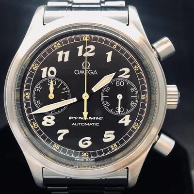 Omega Dynamic Chronograph full steel Mint