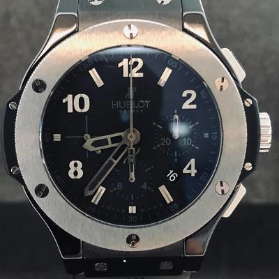 Hublot Big Bang Chronograph Ice Bang, 44MM, Ceramic, Titanium - B&P
