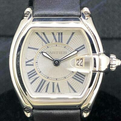 Cartier Roadster 31MM, Steel, Quartz, Date, B&P2006 - MINT