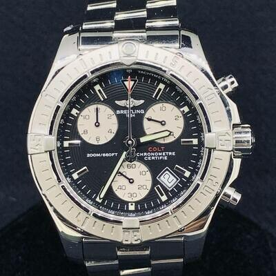 Breitling Colt Chronograph Steel A73380 Mint