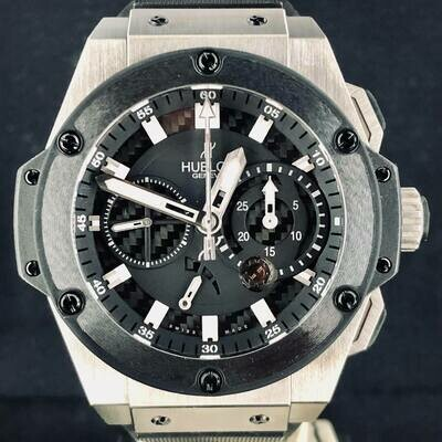 Hublot King Power Zirconium Split Second Power Reserve Chronograph