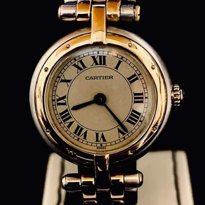 Cartier Panthère Gold/Steel Mint