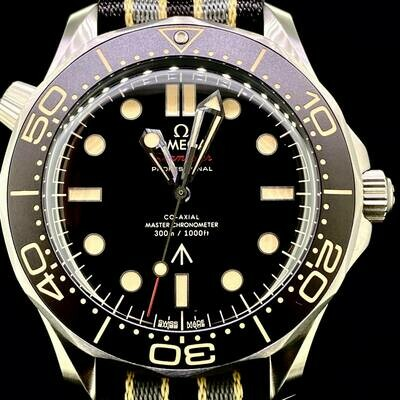 Omega Seamaster Diver 300 M 007 James Bond Titanium 42MM Watch