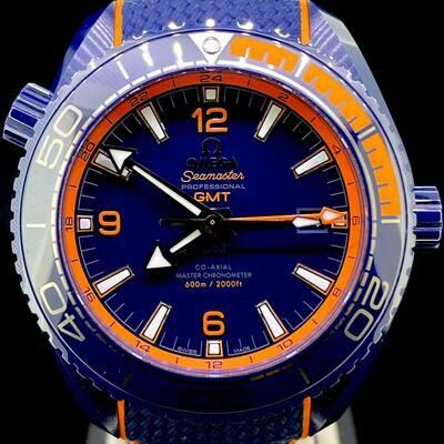 Omega Seamaster GMT Planet Ocean 600M