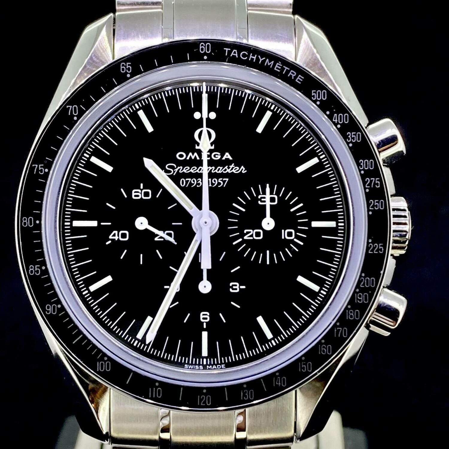 Omega Speedmaster Professional Moonwatch 50th Anniversary 42MM Manual Winding Steel with Box paper
