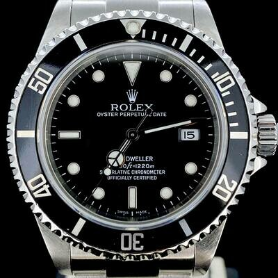Rolex Sea-Dweller Deepsea 44MM Steel Black Dial/Ceramic Bezel Watch