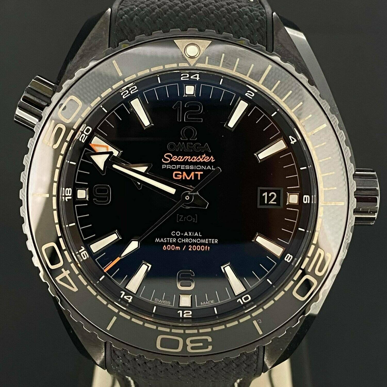 Omega Seamaster Planet Ocean 600M Deep Black Ceramic 45.5MM Co Axial Unworn B&P2018