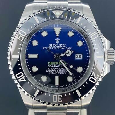 Rolex Sea-Dweller Deepsea DeepBlue James Cameron Blue Dial Steel 44MM Some Stickers BP'20 Unworn