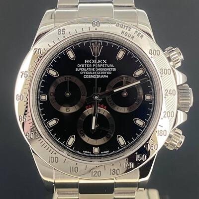 Rolex Daytona Chronograph 40MM Steel Black