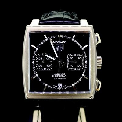 TAG Heuer Monaco Chronograph Calibre 12 Monaco Automatic B&P Mint
