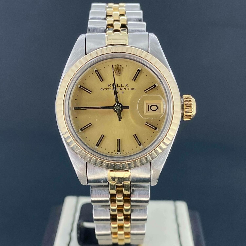 Rolex Lady-Datejust 26MM Gold/Steel.