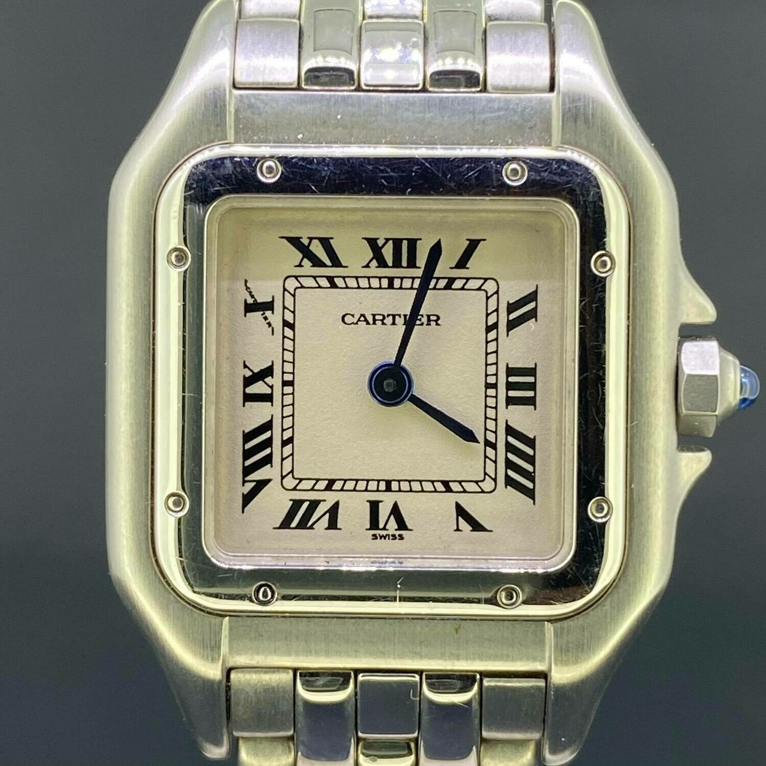 Cartier Panthere Steel Mint B&P